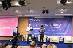 Tibbo Systems на вручении премии IoT Awards 2019