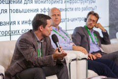 Victor Polyakov at IoT technologies challenges and possibilities in datacenters discussion