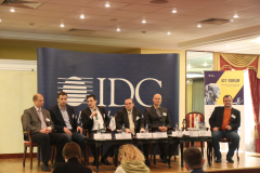 IDC IoT Forum 2016. Talk-show involving well-known IoT experts