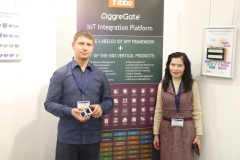 AggreGate IoT Platorm Booth