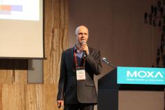 Victor Polyakov at Moxa IIoT Solution Partner Forum 2019