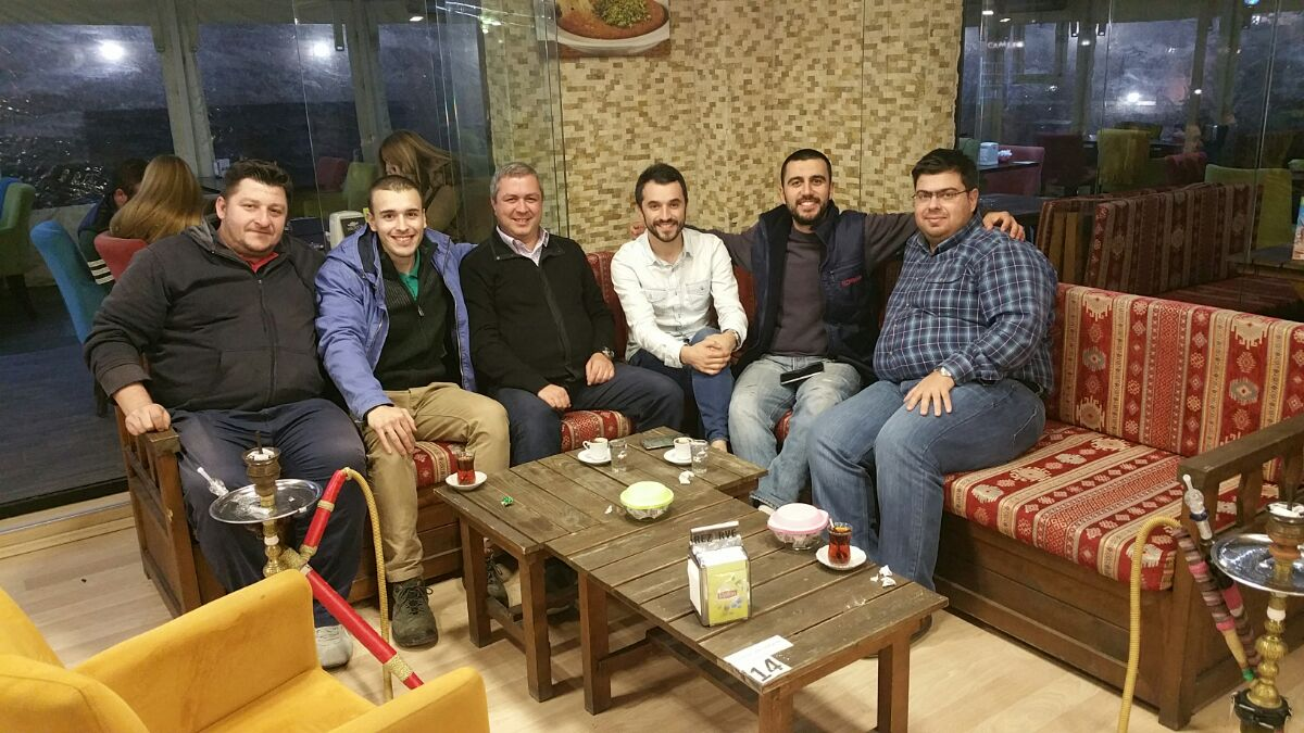 AggreGate technical trainig for Tezmaksan. Our hospitable Turkish friends
