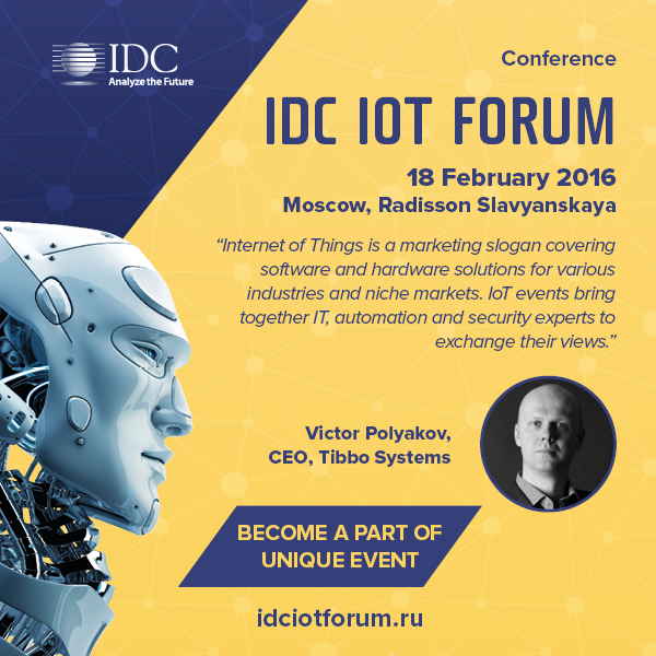 Tibbo at IDC IoT Forum