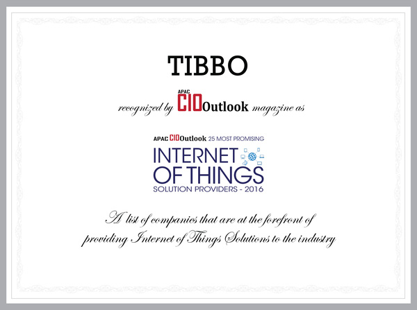 Tibbo is one of the 25 most promising IoT providers in the world