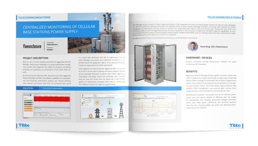 IoT Use Case. Centralized Monitoring of Cellular Base Stations Power Supply