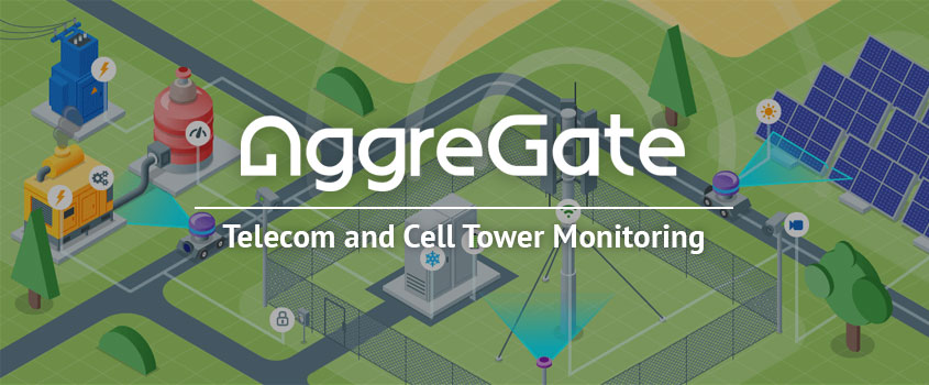 AggreGate Monitors Telecom Towers  Worldwide