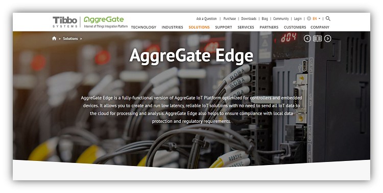 Edge Web Page