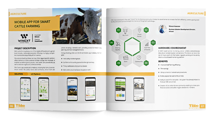 Mobile App for Smart Cattle Farming