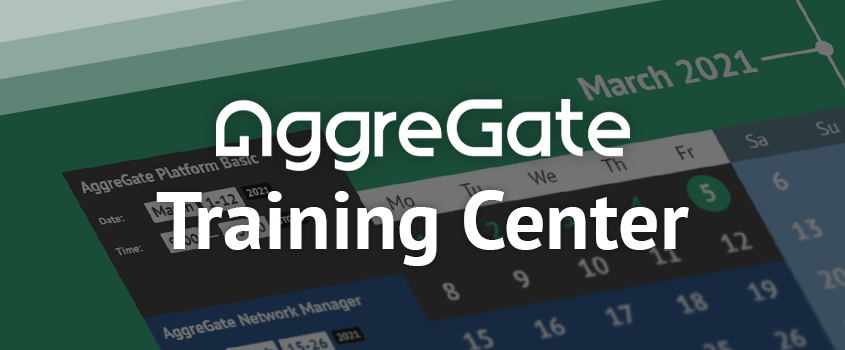 Welcome to AggreGate Training Center!